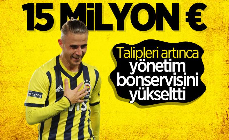 Fenerbahçe, Pelkas'ın bonservisini 15 milyon euro olarak belirledi