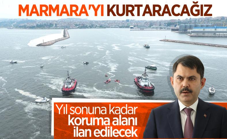 Murat Kurum: Marmara Denizi'nin tamamı 'Koruma Alanı' ilan edilecek