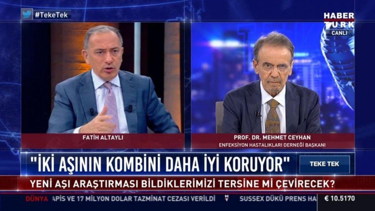 Mehmet Ceyhan: İlk iki aşıyı Snovac olanlar 3. aşıyı BioNtech yaptırabilir #1