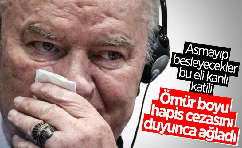 Ratko Mladic'in müebbet hapis cezası onandı