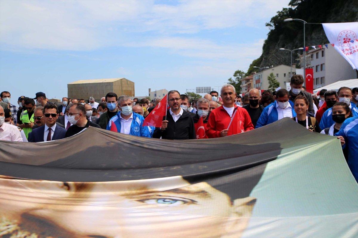 Muharrem Kasapoğlu, Atatürk ve İstiklal Yolu yürüyüşüne katıldı #8
