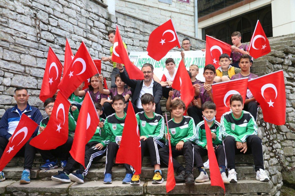 Muharrem Kasapoğlu, Atatürk ve İstiklal Yolu yürüyüşüne katıldı #9