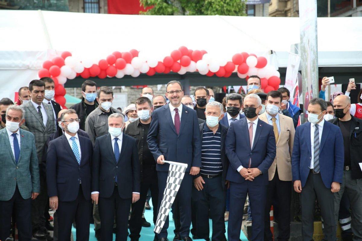 Muharrem Kasapoğlu, Atatürk ve İstiklal Yolu yürüyüşüne katıldı #4