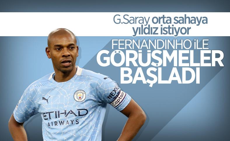 Galatasaray, orta sahaya Fernandinho'yu istiyor