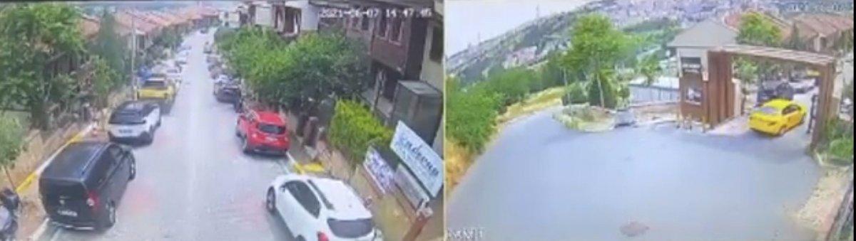 Eyüpsultan da taksi şoförü köpeği ezerek öldürdü #1