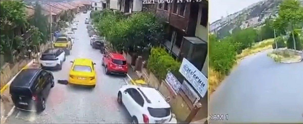 Eyüpsultan da taksi şoförü köpeği ezerek öldürdü #3