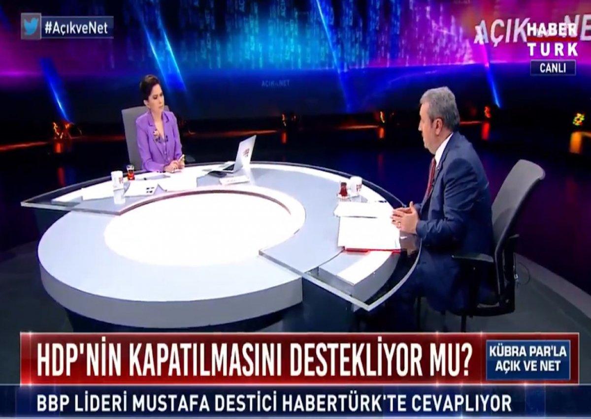 Mustafa Destici: HDP yi kapatmak için delile gerek yok #2