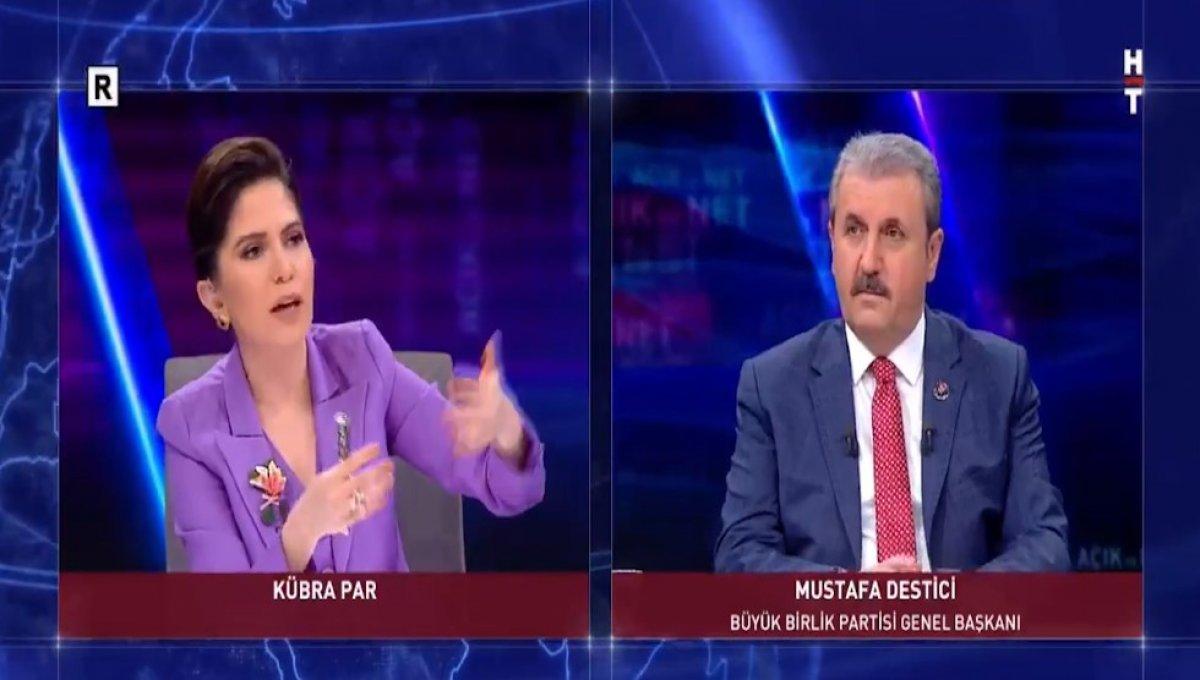 Mustafa Destici: HDP yi kapatmak için delile gerek yok #1