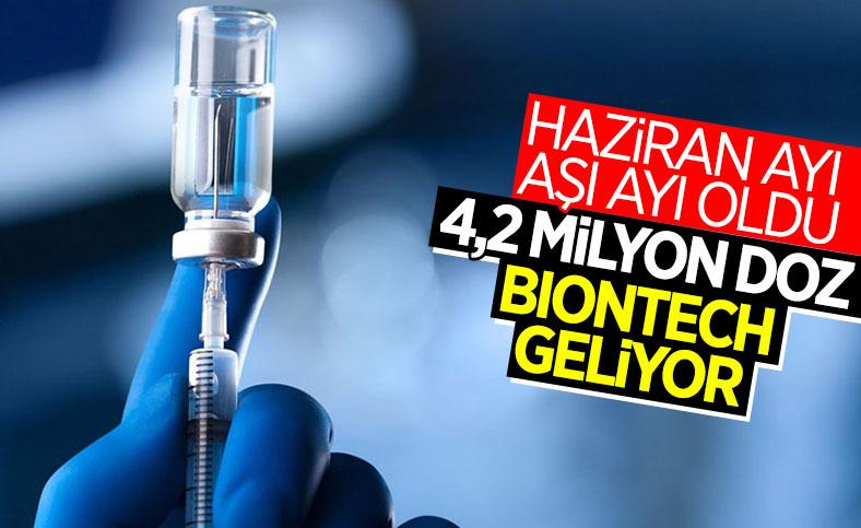Fahrettin Koca: 4,2 milyon doz BioNTech aşısı gelecek
