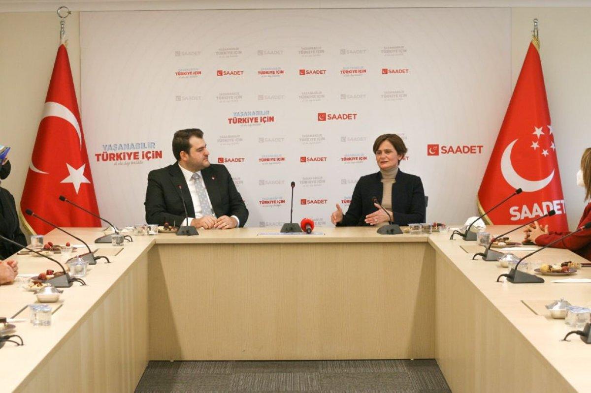 CHP'den Saadet Partisi'ne ziyaret #3