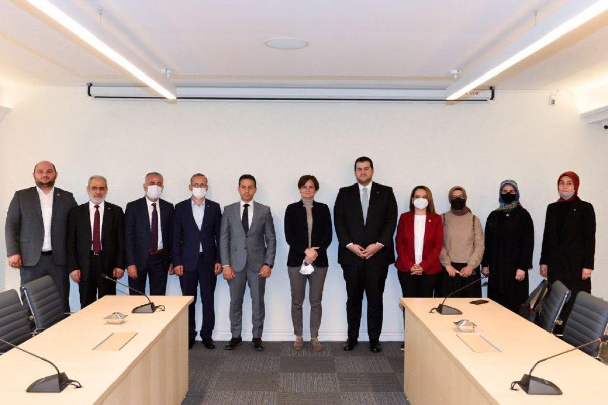CHP'den Saadet Partisi'ne ziyaret #1
