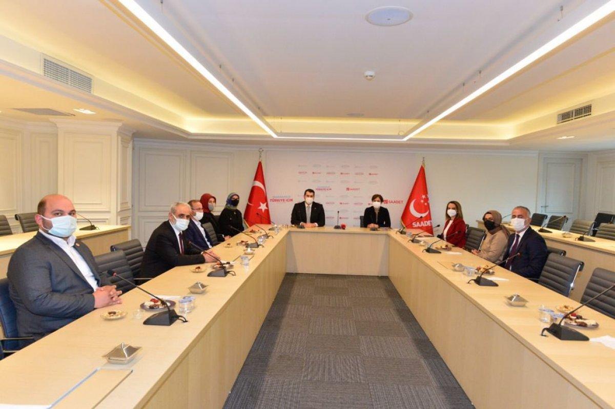 CHP'den Saadet Partisi'ne ziyaret #2