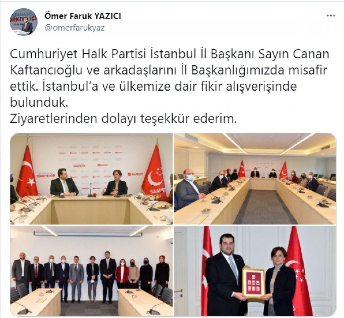 CHP'den Saadet Partisi'ne ziyaret #5