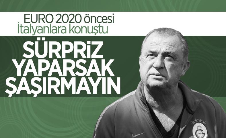 EURO 2020 öncesi Fatih Terim'den önemli açıklamalar