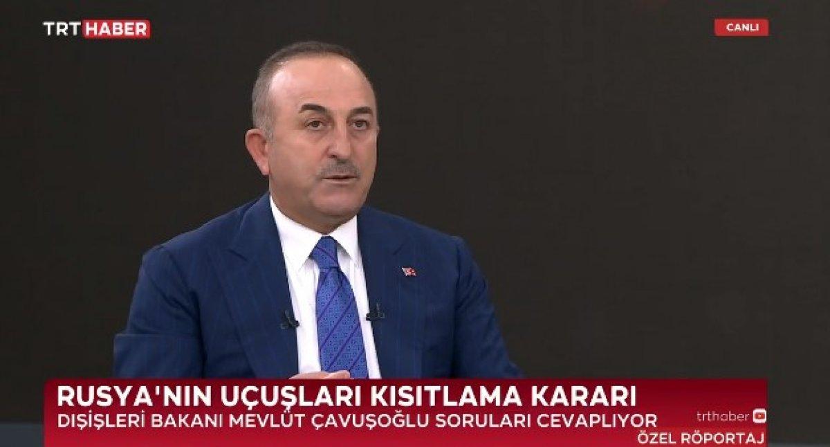 Mevlüt Çavuşoğlu ndan gündeme dair açıklamalar #1