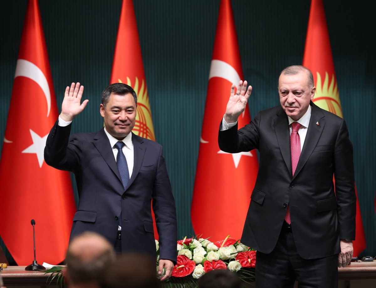 Cumhurbaşkanı Erdoğan: Kırgızistan la ticaret hacmindeki hedefimiz 1 milyar dolar #3