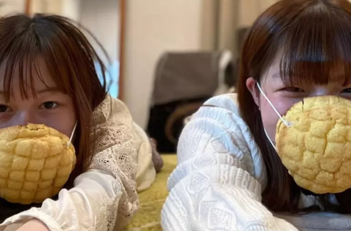 Japonya'da yenilebilir maske üretildi  #1