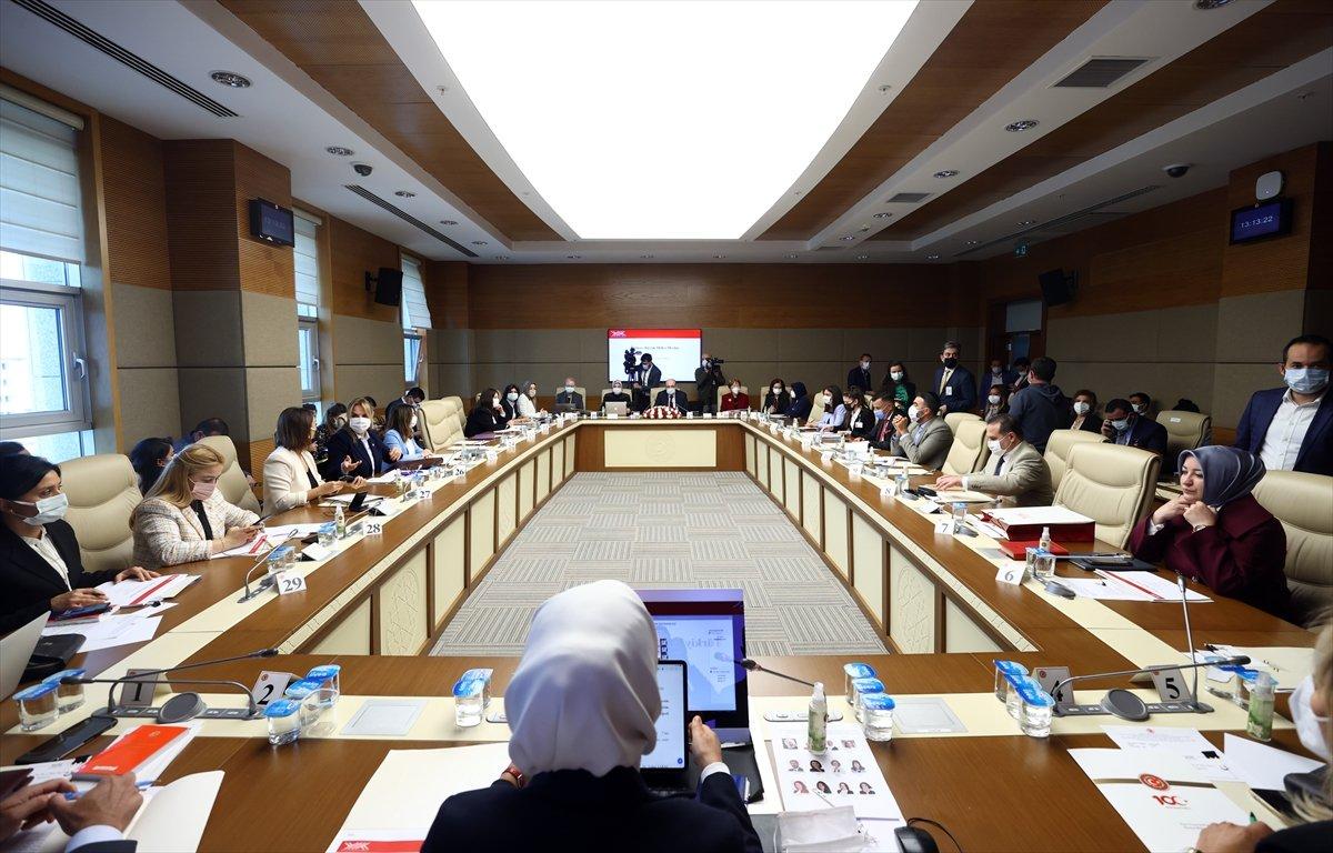Kadına yönelik şiddetin sebeplerinin belirlenmesi komisyonu toplandı #2