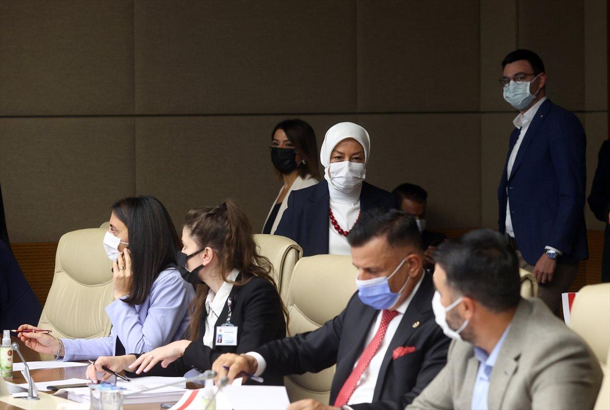 Kadına yönelik şiddetin sebeplerinin belirlenmesi komisyonu toplandı #1