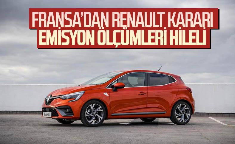 Renault, egzoz emisyon ölçümlerinde hile yapmaktan suçlu bulundu