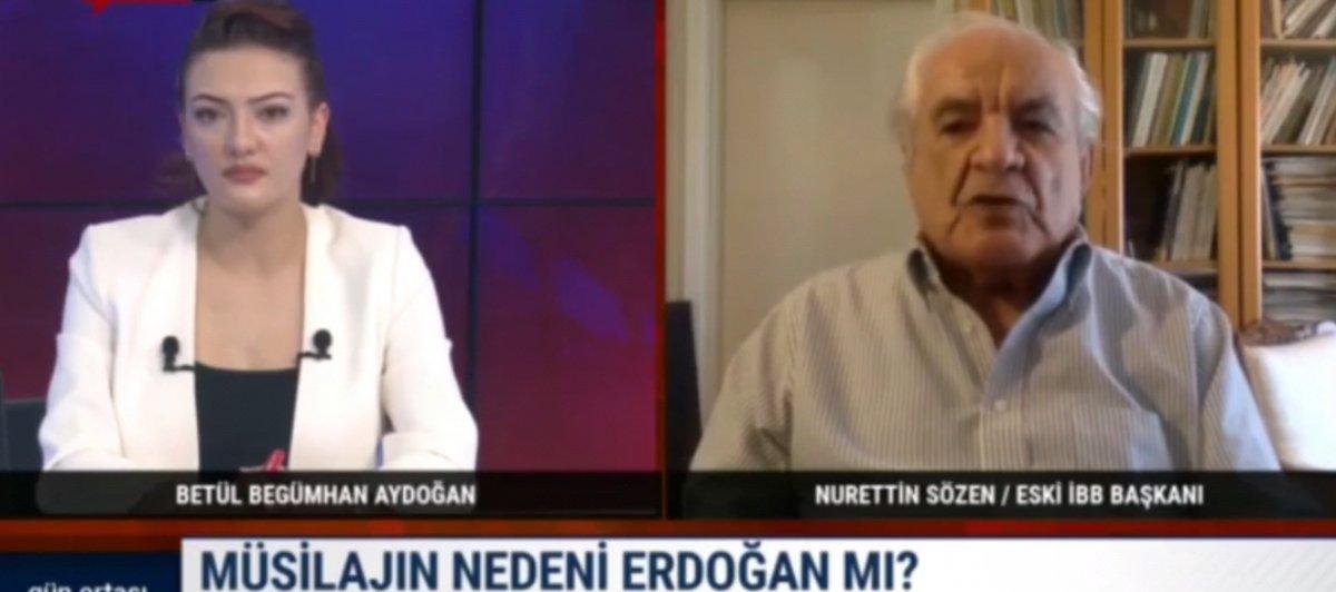 Nurettin Sözen, müsilaj nedeniyle Cumhurbaşkanı Erdoğan ı suçluyor #3