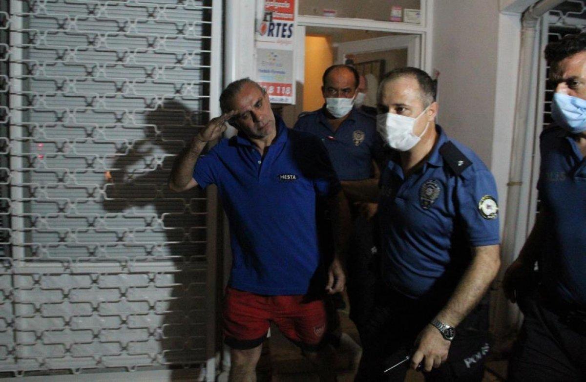 Antalya da balkonda yangın çıkaran kişi komşularına bağırdı: Çileden çıkarttınız beni  #5