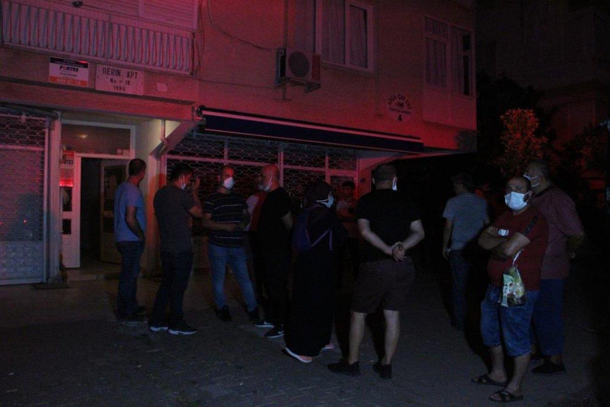 Antalya da balkonda yangın çıkaran kişi komşularına bağırdı: Çileden çıkarttınız beni  #6