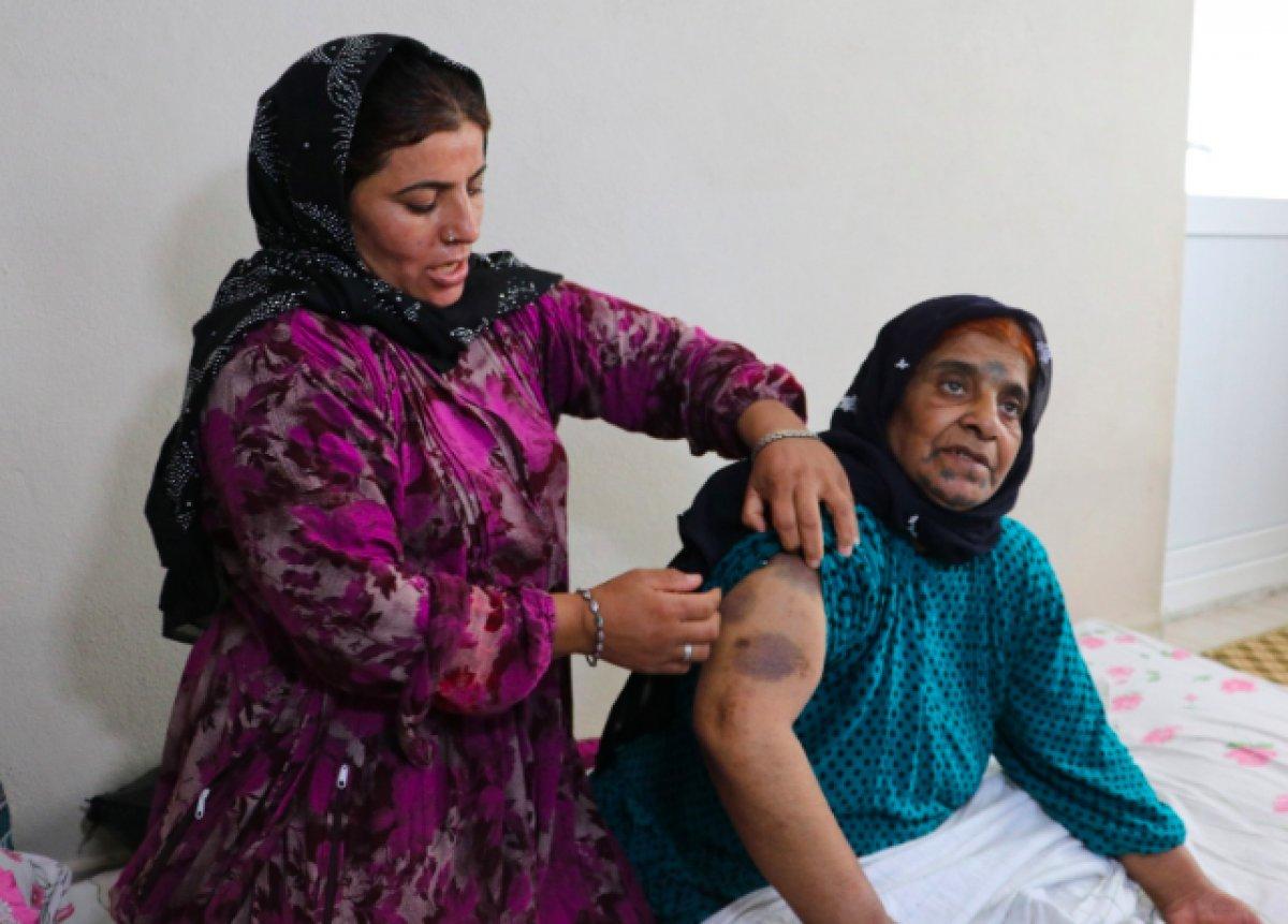 Adana da yaşlı kadın yoğun bakımda darbedildi #4