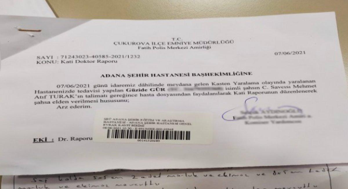 Adana da yaşlı kadın yoğun bakımda darbedildi #5