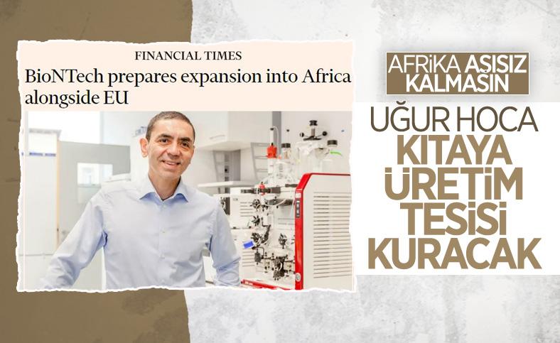 BioNTech, Afrika'da aşı üretim tesisi kuracak