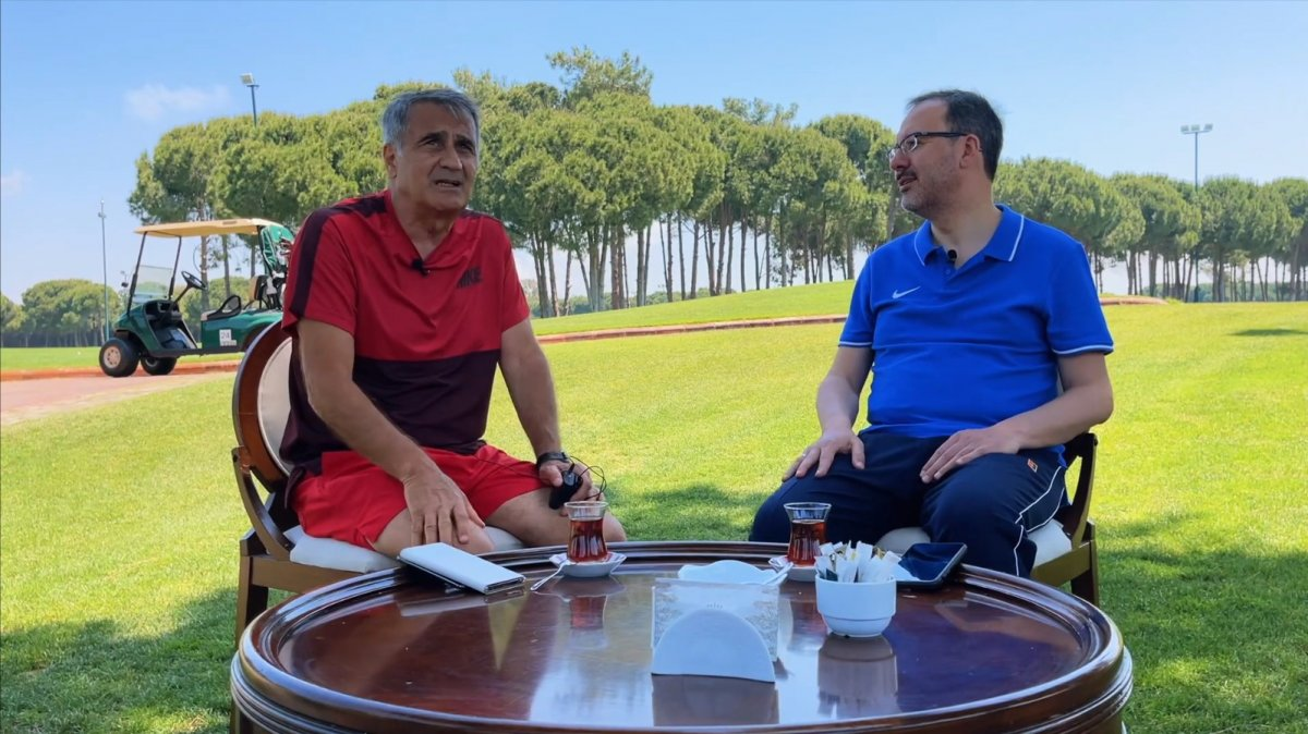 Bakan Kasapoğlu sordu, Şenol Güneş cevapladı #2