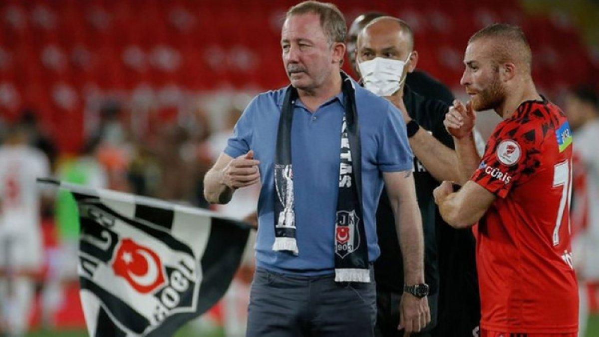 Beşiktaş Sergen Yalçın la anlaşmaya vardı #1