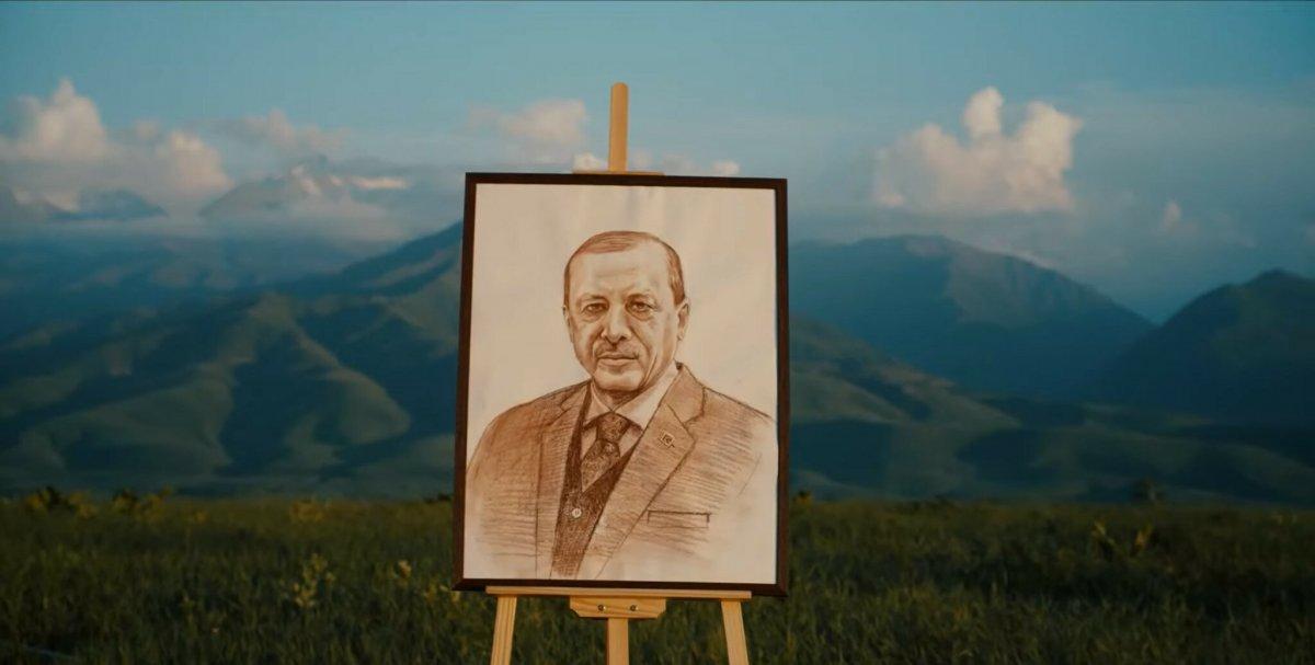 Kırgız sanatçı Turdakun Niyazaliyev den 'Büyük Türkiye' şarkısı #1