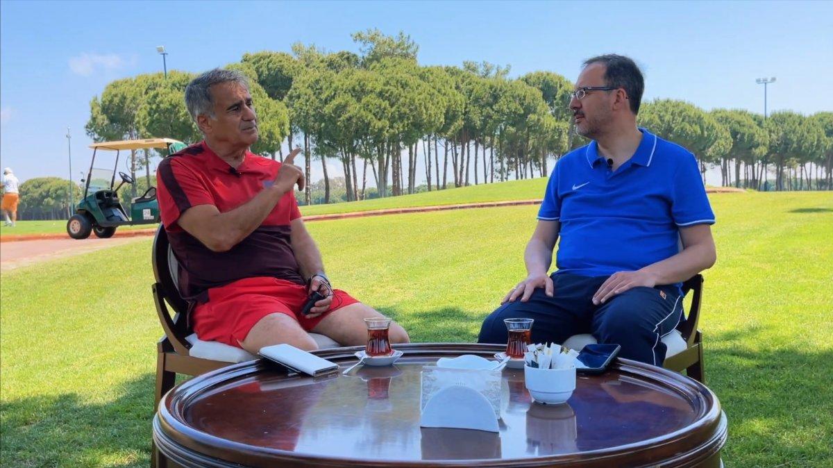 Bakan Kasapoğlu sordu, Şenol Güneş cevapladı #3