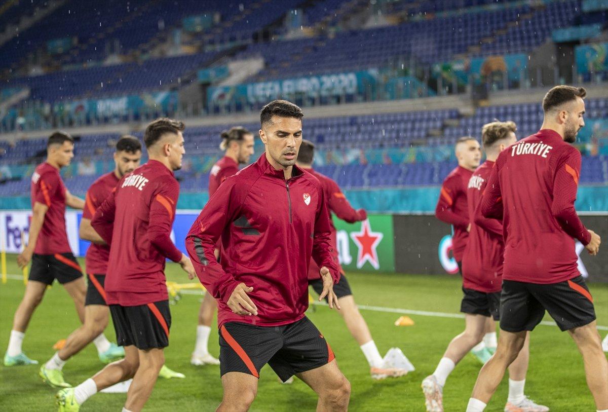 Milliler, İtalya maçı hazırlıklarını tamamladı #3