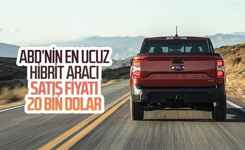 Yeni Ford Maverick, ABD'nin en ucuz hibrit aracı oldu