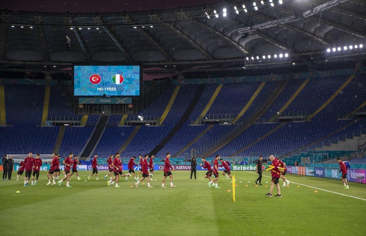 Milliler, İtalya maçı hazırlıklarını tamamladı #6