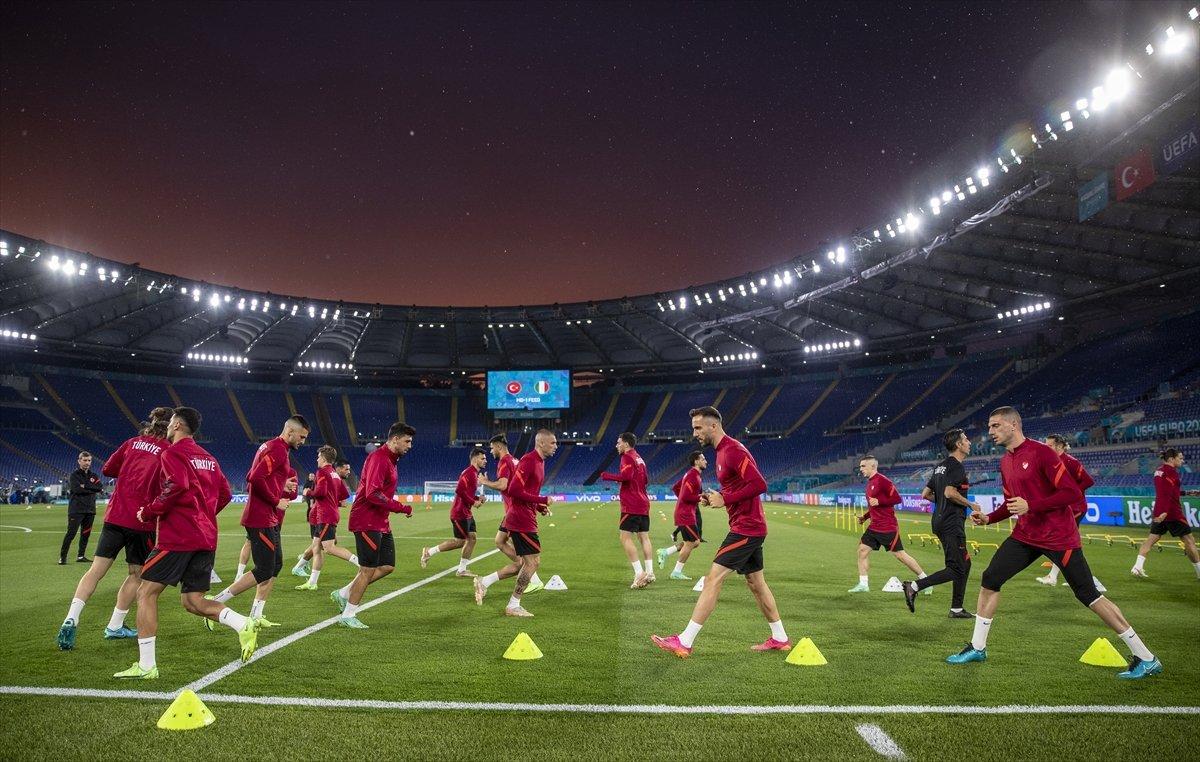 Milliler, İtalya maçı hazırlıklarını tamamladı #7