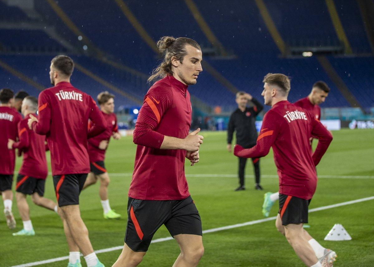 Milliler, İtalya maçı hazırlıklarını tamamladı #2
