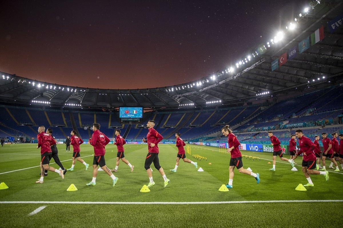Milliler, İtalya maçı hazırlıklarını tamamladı #4