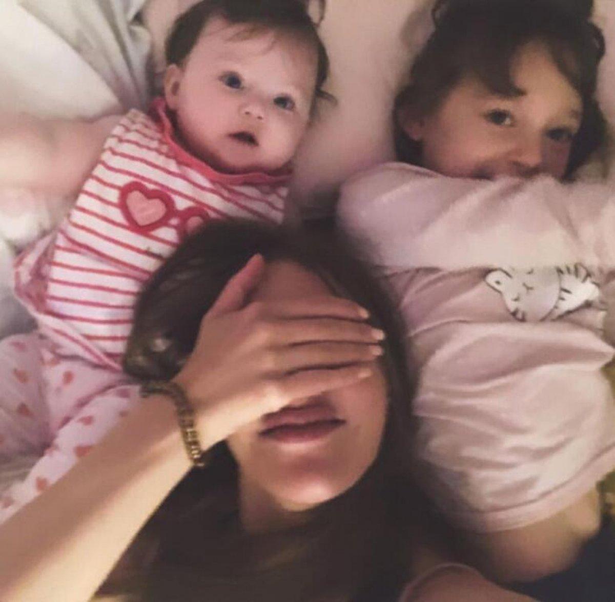 Meryem Uzerli, kızlarıyla fotoğraf paylaştı #1