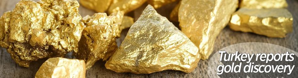 Türkiye 1,2 milyar dolar değerinde 20 tonluk altın rezervi keşfetti