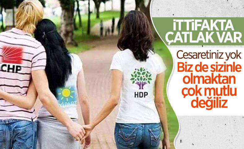 HDP'li Garo Paylan'dan CHP ve İyi Parti'ye: Biz de sizinle olmaktan mutlu değiliz