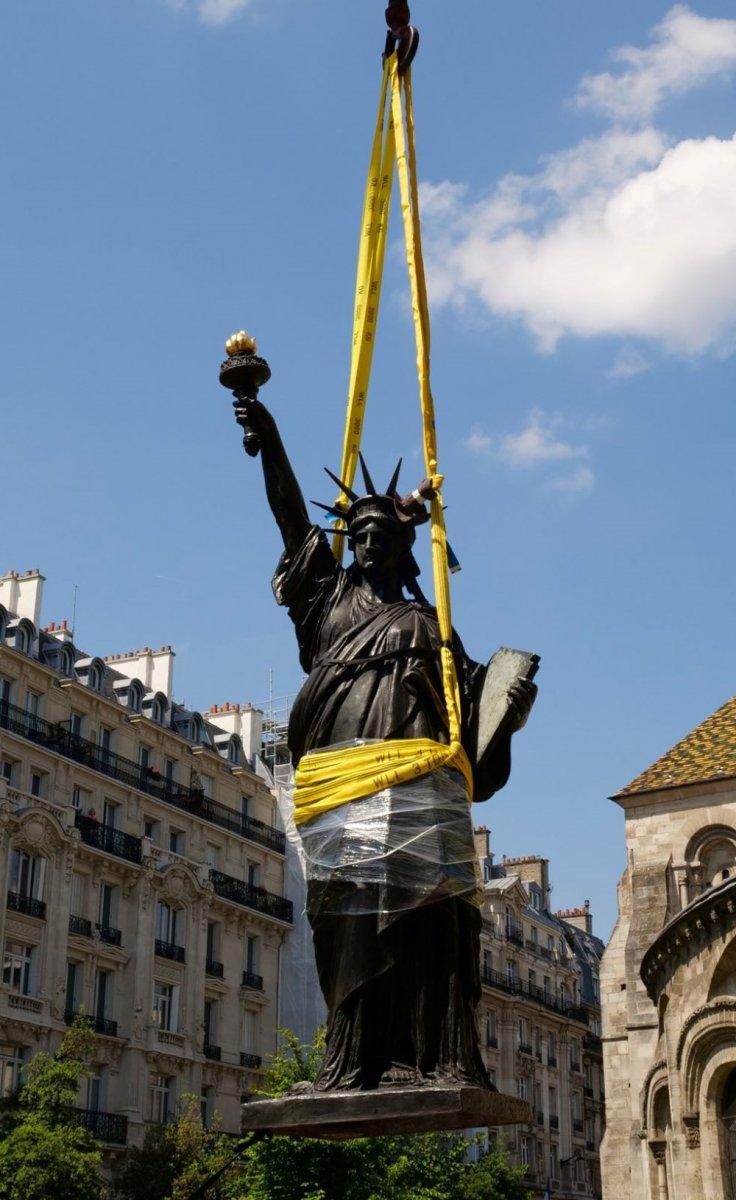 Fransa dan ABD ye yeni Özgürlük Heykeli #4