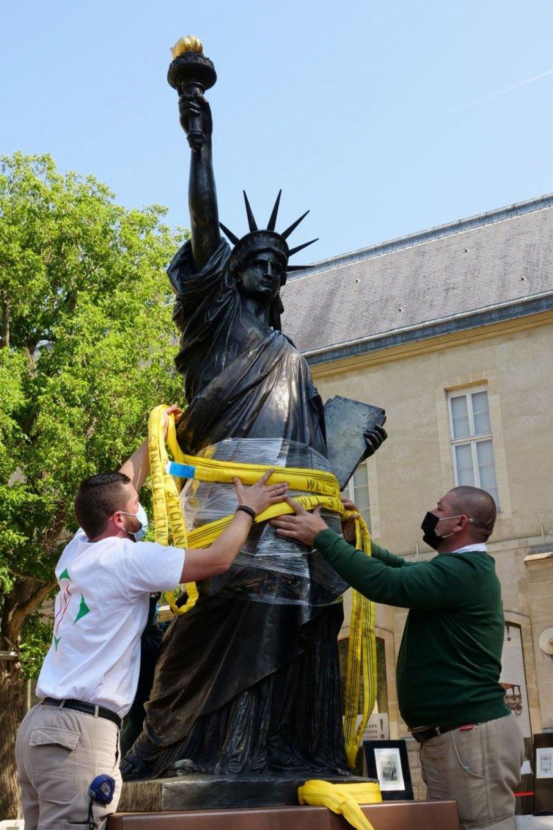 Fransa dan ABD ye yeni Özgürlük Heykeli #5