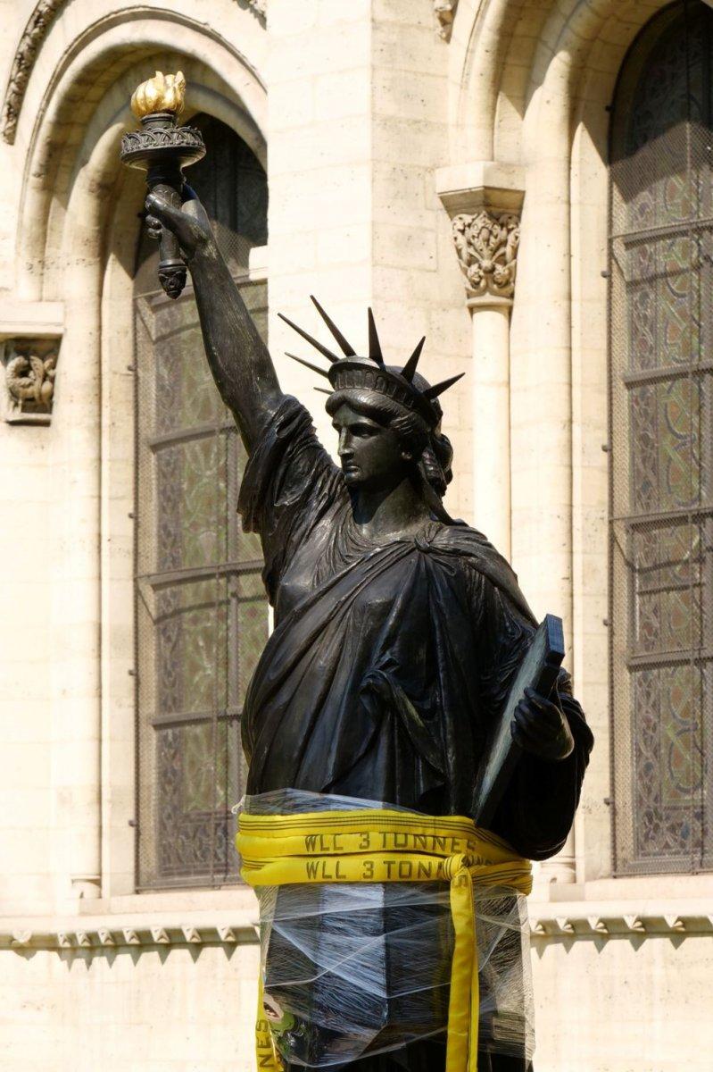 Fransa dan ABD ye yeni Özgürlük Heykeli #3