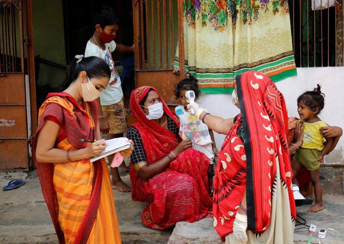 Hindistan da 6 bin 148 koronavirüs ölümüyle günlük rekor kırıldı #2