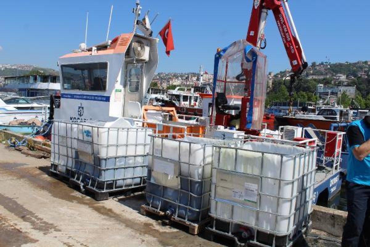 İzmit Körfezi nde müsilaj temizlendi, balıkçılar açıldı  #8