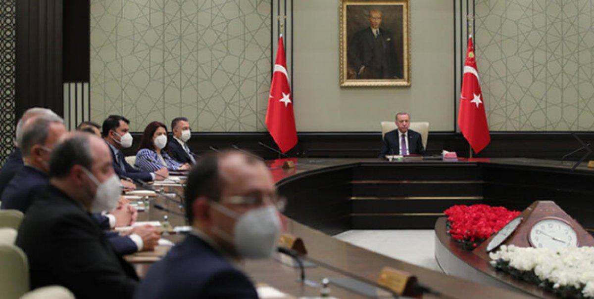 Kabine Toplantısı ertelendi #1