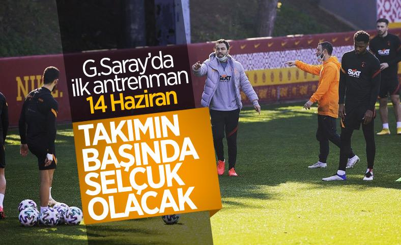 Galatasaray antrenmanlara başlıyor